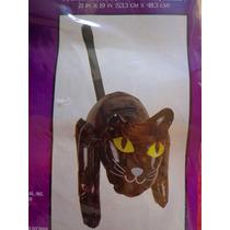 Halloween Figura Inflable De Gato Negro