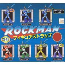 Set De 7 Figuras Japonesas De Rockman - Megaman - Nuevas