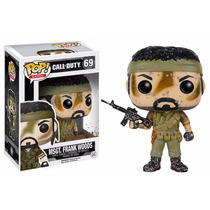 Msgt. Frank Woods Funko Pop Brutus Ghost Riley Call Of Duty