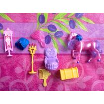 Lote De Figuras Miniatura Con Caballito