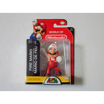 Minifigura De Nintendo Super Mario Bros - Fire Mario - Nueva