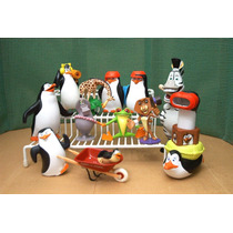 Madagascar & Pinguinos Lote 12 Figura P Comp Ve Descripcion