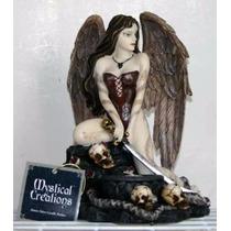 Figura De Hada Para Portavelas Marca Mystical Creations
