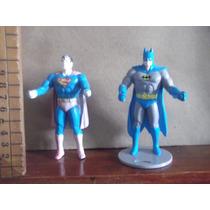 Batman Y Superman,de Dc Lote De Figuras 1988