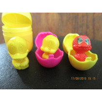 Set Patitos De Huevo Kinder Con Sus Cascarones!