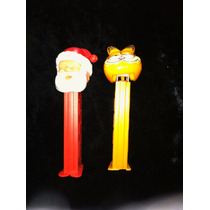 Dispensadores Pez Santa Claus Y Garfield