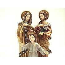 Sagrada Familia De Pie Con Cristales
