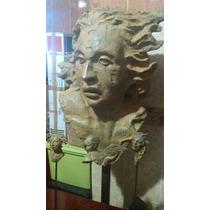 Javier Marin Escultura En Bronce Firmada Catalogada 190x90cm