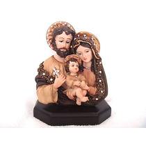 Sagrada Familia Busto Con Cristales