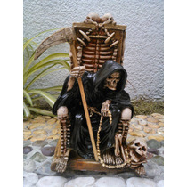 Santa Muerte De Resina