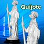 Quijote Escultura Figura Artesania Marmol Arte Coleccionista
