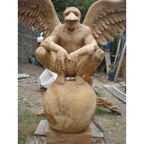 Hombre Pajaro Escultura