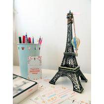 Torre Eiffel Decorativa Metal Vintage 48cm Mayoreo Envio Gra