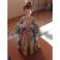 Fina Figura De Porcelana Japonesa