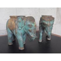 Escultura Bronce, Elefante Tailandes