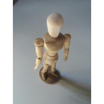 Muñeco Articulado De Madera Para Dibujo Envio Gratis!!