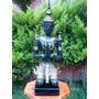 Buda Hincado, Escultura Hecha De Bronce! Precioso!!! Op4