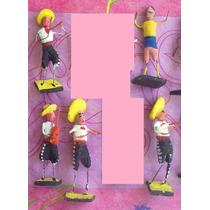 Figuras Miniatura De Musicos En Alambre