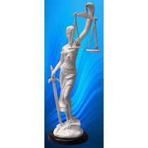 Diosa De La Justicia Escultura Figura Marmol Arte Trofeo