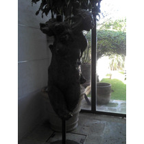 Javier Marin Escultura En Bronce Firmada Catalogada 200cm