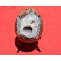 Huevo En Geoda De Cuarzo 1412
