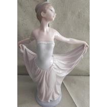 Escultura Porcelana Lladro Dama De Honor Excelente