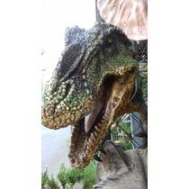 Rec Dinosaurio Cabeza De Resina