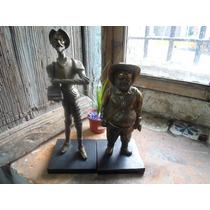 Figura Quijote Y Sancho