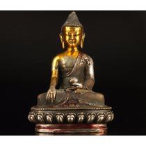 Escultura De Buda En Bronce/buddha/zen/meditar/feng Shui/dec