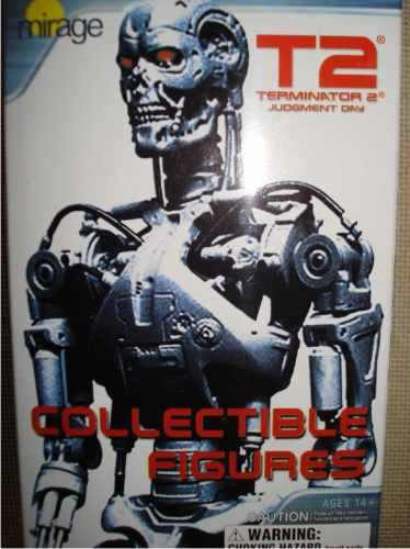 Figuras Gashapon De La Pelicula Terminator 2