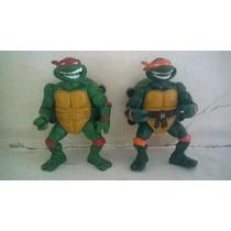 Tmnt Tortugas Ninja Vintage Lote De 2 Figuras.