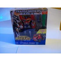 Transformers Optimus Prime Beast Hunters Voyager Rid Armada