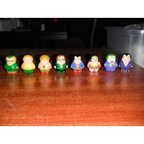 Liga De La Justicia 8 Figuras Mini