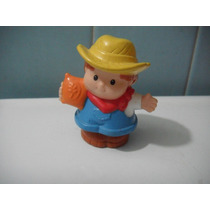 Little People 1 Figuras Granjero Mattel Fisher Price Pm0