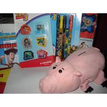 Lote De Juguetes Y Dispensador Toy Story 2 Mc Donal`s