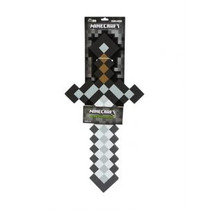 Minecraft Espada Sword Foam Iron Metal 60 Cms Toysrus