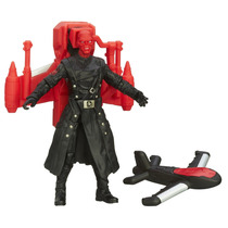 Capitan America Y Red Skull Lanza Un Drone