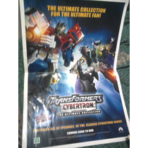 Transformers Optimus Cybertron Poster Carteles Lobby Cards