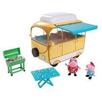 Peppa Pig Camper Van Playset Del Juguete
