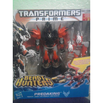 Transformers Optimus Prime Predaking Voyager Beast Hunters