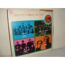 Vintage Lp Llena Tu Cabeza De Rock 1970