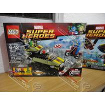 Lego Guardianes De La Galaxia, Capitan América Y Batman