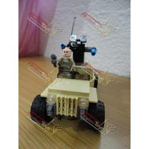 Figura Y Vehículo Lego Del Set De Superman 76003