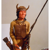 Marx Johnny West Indio Cherokee Vintage 1967 N Caja Completo