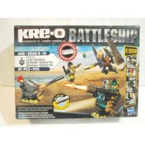 Hasbro Kreo Battleship Defensa Terreste 81pcs Edad 6-12