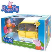 Peppa Pig Autocaravana Con Familia Completa Producto Nuevo