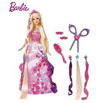 Barbie Princesa Peinados Divertidos