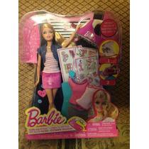 Muñeca Barbie Crea Tu Estilo Mattel 100% Original