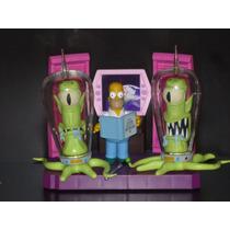Homero Simpson Con Kang Y Kodos
