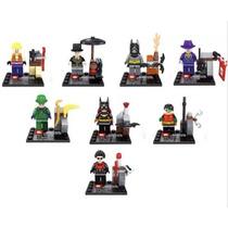 Batman Villanos Tipo Lego, Joker, Robin, Batichica